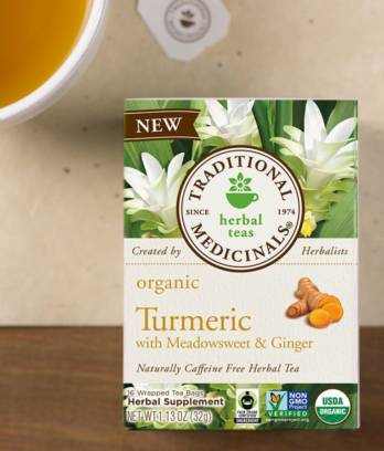 Turmeric with Meadowsweet & Ginger