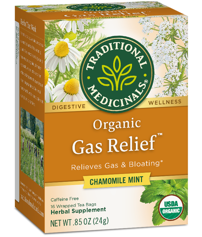 Gas Relief™ - Traditional Medicinals - Herbal Wellness Teas